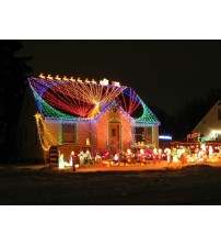 HOLIDAY SYNCHRONIZED LIGHTS SOUND System Music Outdoor Holiday Lighting