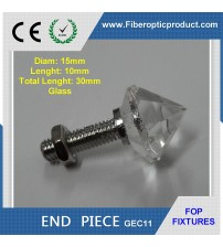 Fiber Optic Glass End Fixture GEC11