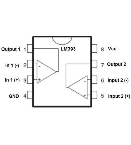 5 pieces Comparator ICs Single Low Power Comparator
