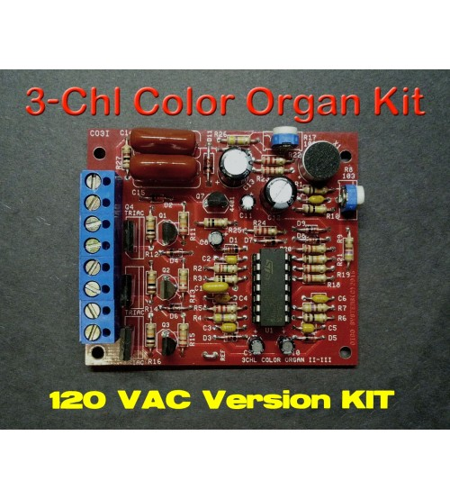 Sound 2 Light Unit 120 VAC KIT