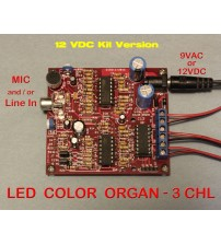 Sound 2 Light Unit 12 Volt DC KIT