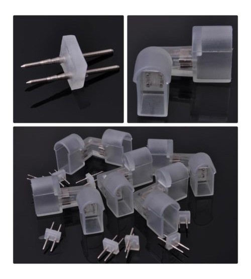 Splice l connector for neon rope light 2 wire wpin accessories mozeypictures Choice Image