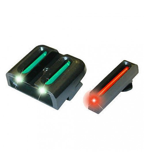 TruGlo Fiber Optic Sight Set For Glock Low Models-TG131G1