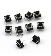 Mini Micro Momentary Tactile Push Button Switch 6*6*5 mm 4pin