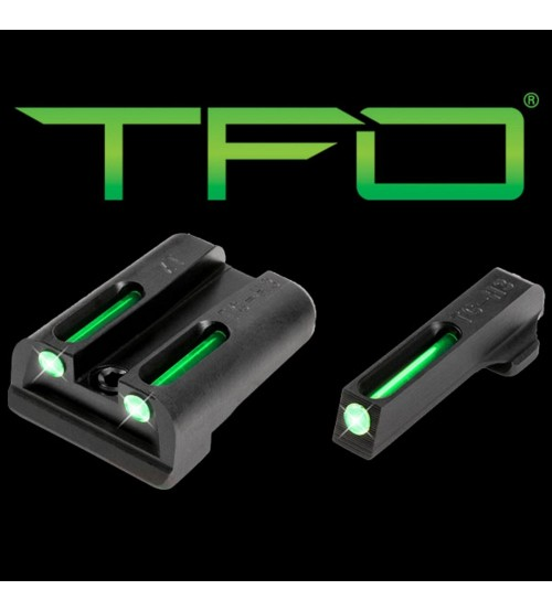 Truglo TFO Tritium/Fiber-Optic Day/Night Sights Springfield Armory XD Set