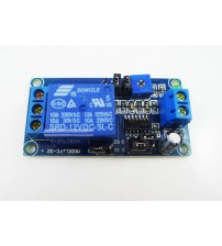 DC 12V relay Turn on /Turn off Delay switch module with timer up to 1 hour