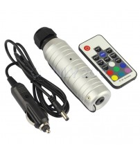 12 VDC 6 Watt RGB Light Unit w/ RF Remote For Auto