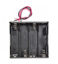 12V Volt 8 Slots Double Side Battery Holder Box Case for 8x AA Batteries