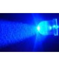 3mm Clear Blue Blinker