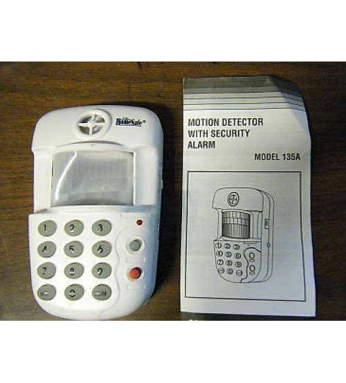 Motion Detector with Keys