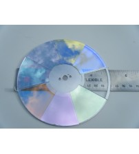 5 Inch 8 Color Glass Color wheel