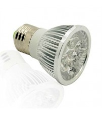 CW4 E27 4W Day Light LED Light Lamp Bulb