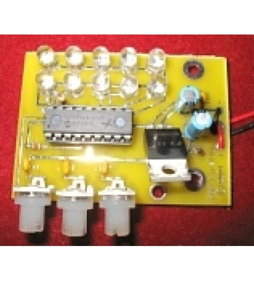 Firefly Yellow Leds - 9v Battery