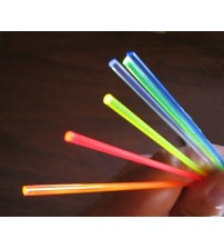 "2mm or .080"" Fluorescent Fibers Red 3ft - Gun and Archery Sight"