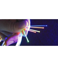 "1mm or .039""  Fluorescent Fiber Red 3ft - Gun and Archery Sight"