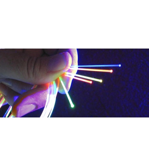 1mm or .039 Fluorescent Fiber Green 3 ft. - Gun and Archery Sight