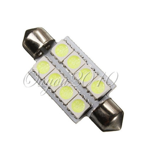 Car Interior Dome 3 Watt LED Bulbs White DC 12V