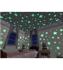 Home Decor Glow In The Dark Star sticker Decals