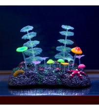 Glowing Effect Artificial Plant Mushroom
