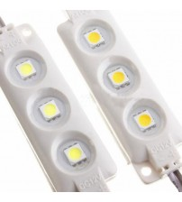 LED Module 3 SMD 5050 Injection Cool/Wam White Waterproof Strip Light