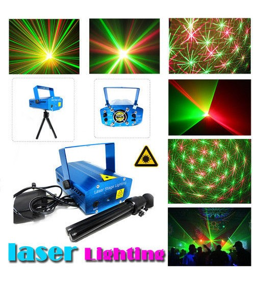 Laser Holiday Lighting Show