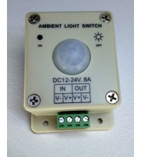 LIGHT SENSOR SWITCH 12 VOLT 8 AMP DUSK To DAWN