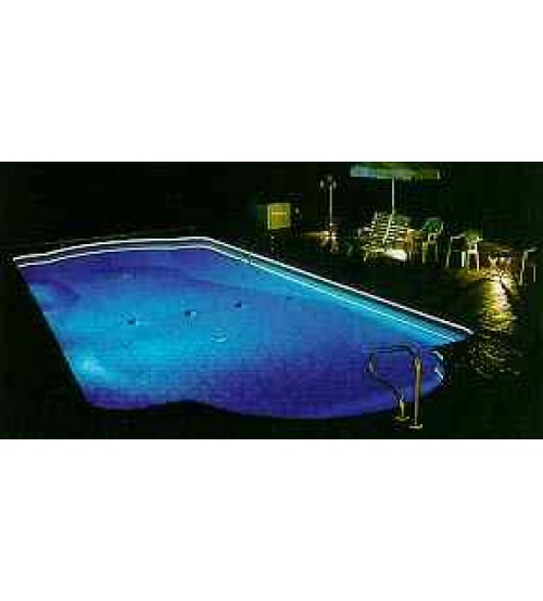 Fiber Optic Pool Edge Lighting Kit 130 Feet