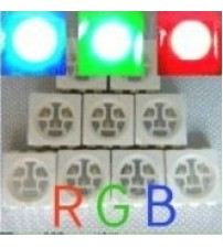 SMD 3-CHIPS RGB LED
