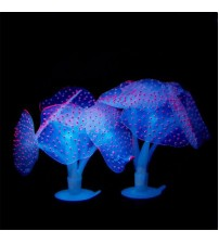 Glowing Effect Silicon Artificial Coral Plant