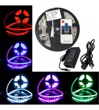 Christmas LED RGB Lighting Kit +IR Remote Control+ 12V Power Supply