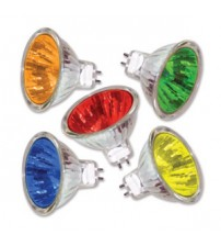 MR-16-12v 50 Watt Yellow Bulbs