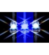 5mm White/Blue Flashing Water Clear LED
