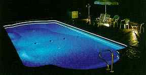 Fiber Optic Pool Edge Lighting Kit 100 Feet Quick View & Pool u0026 Spa Lighting azcodes.com