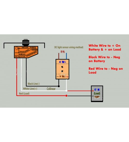 Light Sensor Wiring Diagram from shop.fiberopticproducts.com